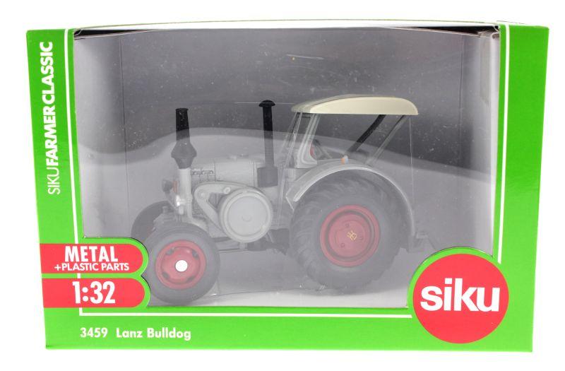 Siku 3459 - Lanz Bulldog Karton vorne