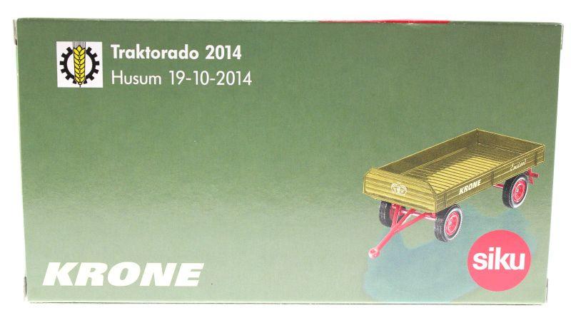 Siku 3463 - Krone Emsland Anhänger - Traktorado 2014 Karton hinten