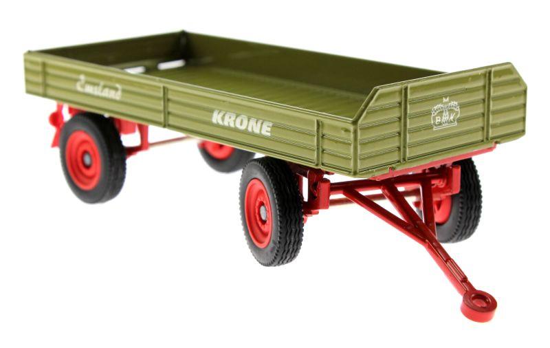 Siku 3463 - Krone Emsland Anhänger - Traktorado 2014 vorne rechts