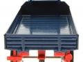 Siku 3463b - Klassischer Anhänger in blau hinten