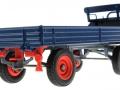 Siku 3463b - Klassischer Anhänger in blau unten hinten rechts