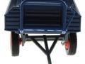 Siku 3463b - Klassischer Anhänger in blau vorne