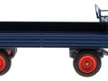 Siku 3463b - Klassischer Anhänger in blau