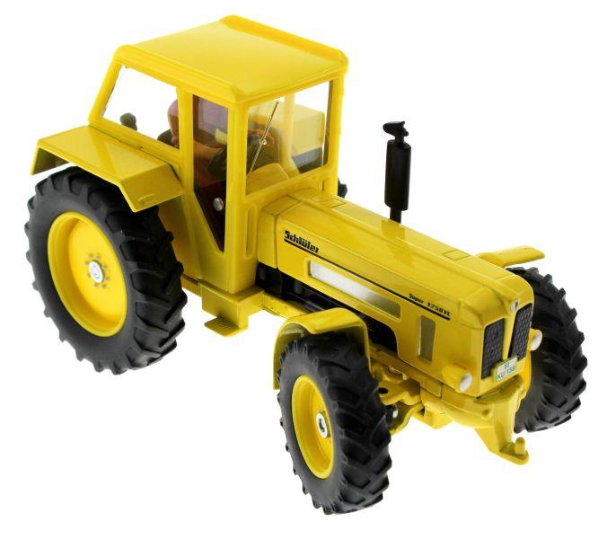 Siku 3469 - Schlüter Super 1250VL gelb oben vorne rechts