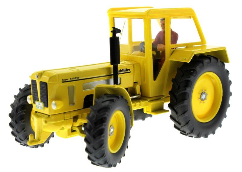 Siku 3469 - Schlüter Super 1250VL gelb vorne links