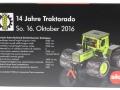 Siku 3477t16 - MB Trac 1800 Intercooler mit Ballonbereifung - Traktorado 2016 Karton hinten