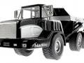 Siku 3526 - Dumper Truck - Blackline unten vorne links