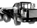 Siku 3526 - Dumper Truck - Blackline unten vorne rechts