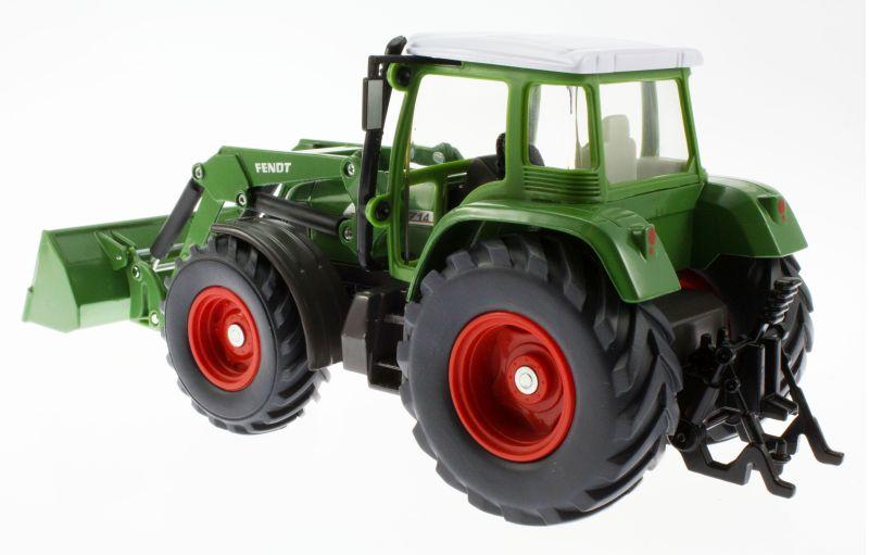 Siku 3554 - Traktor mit Schaufellader Fendt Vario 714 hinten links