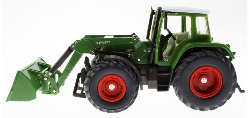 Siku 3554 - Traktor mit Schaufellader Fendt Vario 714 links