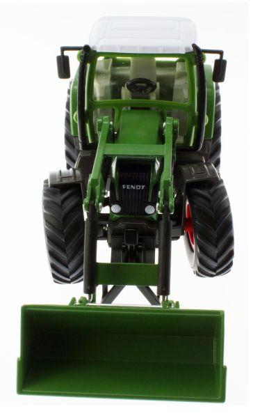 Siku 3554 - Traktor mit Schaufellader Fendt Vario 714 oben vorne