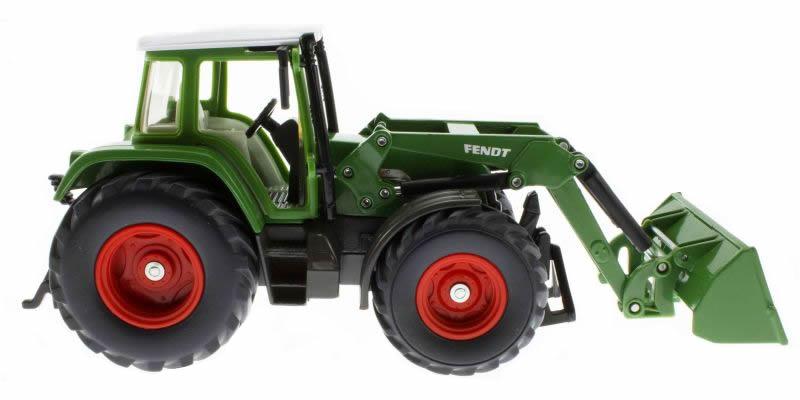 Siku 3554 - Traktor mit Schaufellader Fendt Vario 714