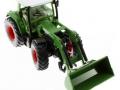 Siku 3554 - Traktor mit Schaufellader Fendt Vario 714 oben vorne rechts