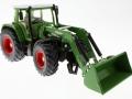 Siku 3554 - Traktor mit Schaufellader Fendt Vario 714 vorne rechts