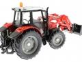Siku 3653 - Traktor Massey Ferguson mit Frontgabel hinten rechts