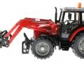 Siku 3653 - Traktor Massey Ferguson mit Frontgabel links