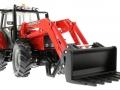 Siku 3653 - Traktor Massey Ferguson mit Frontgabel unten vorne rechts