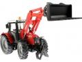 Siku 3653 - Traktor Massey Ferguson mit Frontgabel vorne rechts