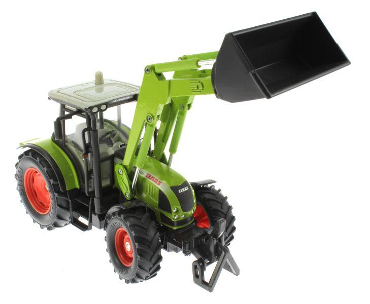 Siku claas traktor mit frontlader