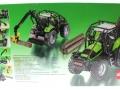 Siku 3657 - Forsttraktor Deutz-Fahr Karton hinten