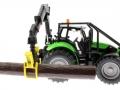 Siku 3657 - Forsttraktor Deutz-Fahr Stamm
