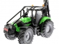 Siku 3657 - Forsttraktor Deutz-Fahr vorne links