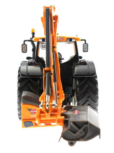 Siku 3659 - Valtra Traktor mit Kuhn Böschungsmähwerk hinten