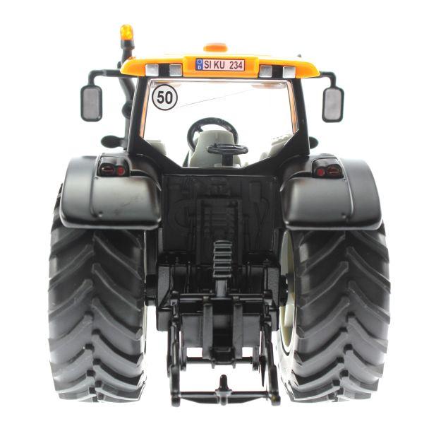 Siku 3659 - Valtra Traktor mit Kuhn Böschungsmähwerk hinten nah