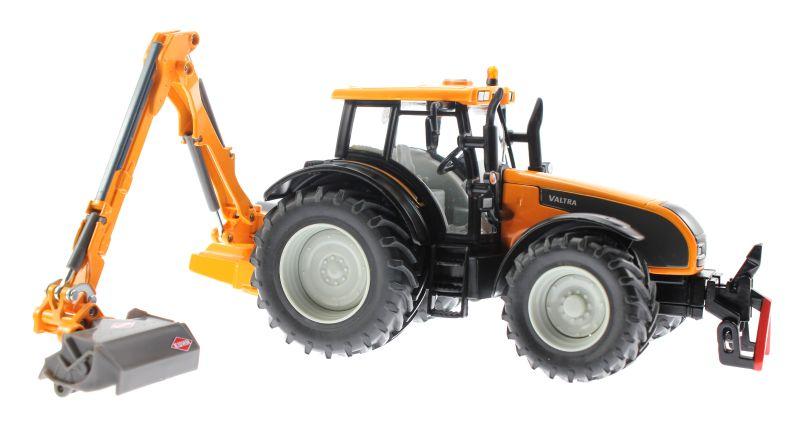 Siku 3659 - Valtra Traktor mit Kuhn Böschungsmähwerk rechts