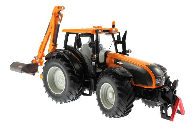 Siku 3659 - Valtra Traktor mit Kuhn Böschungsmähwerk vorne rechts