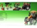 Siku 3659 - Valtra Traktor mit Kuhn Böschungsmähwerk Karton hinten