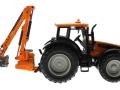 Siku 3659 - Valtra Traktor mit Kuhn Böschungsmähwerk
