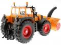 Siku 3660 - Traktor Fendt 920 Vario mit Schneefräse Schmidt hinten rechts