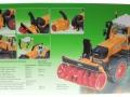 Siku 3660 - Traktor Fendt 920 Vario mit Schneefräse Schmidt Karton hinten