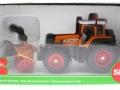 Siku 3660 - Traktor Fendt 920 Vario mit Schneefräse Schmidt karton vorne