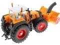 Siku 3660 - Traktor Fendt 920 Vario mit Schneefräse Schmidt oben hinten rechts