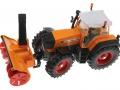 Siku 3660 - Traktor Fendt 920 Vario mit Schneefräse Schmidt oben vorne links