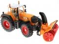 Siku 3660 - Traktor Fendt 920 Vario mit Schneefräse Schmidt oben vorne rechts