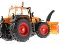 Siku 3660 - Traktor Fendt 920 Vario mit Schneefräse Schmidt unten hinten rechts