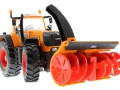 Siku 3660 - Traktor Fendt 920 Vario mit Schneefräse Schmidt unten vorne rechts
