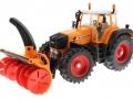 Siku 3660 - Traktor Fendt 920 Vario mit Schneefräse Schmidt vorne links