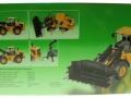 Siku 3663 - JCB 435S Agri Radlader Karton hinten