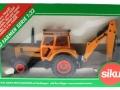 Siku 3756 - Deutz-Fahr Agrostar mit Heckbagger Karton vorne