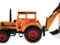 Siku 3756 - Deutz-Fahr Agrostar mit Heckbagger links