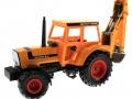 Siku 3756 - Deutz-Fahr Agrostar mit Heckbagger vorne links