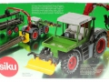 Siku 3857 - Fendt Xylon Forstmaschine Karton hinten
