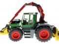 Siku 3857 - Fendt Xylon Forstmaschine links