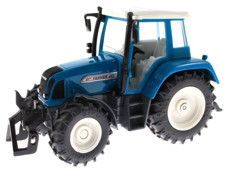 Siku 3861 - Fendt Farmer Vario 412 blau vorne links