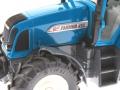 Siku 3861 - Fendt Farmer Vario 412 blau Logo