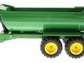 Siku 3863 - John Deere 6820 mit Frontlader und Krampe Muldenkippe links